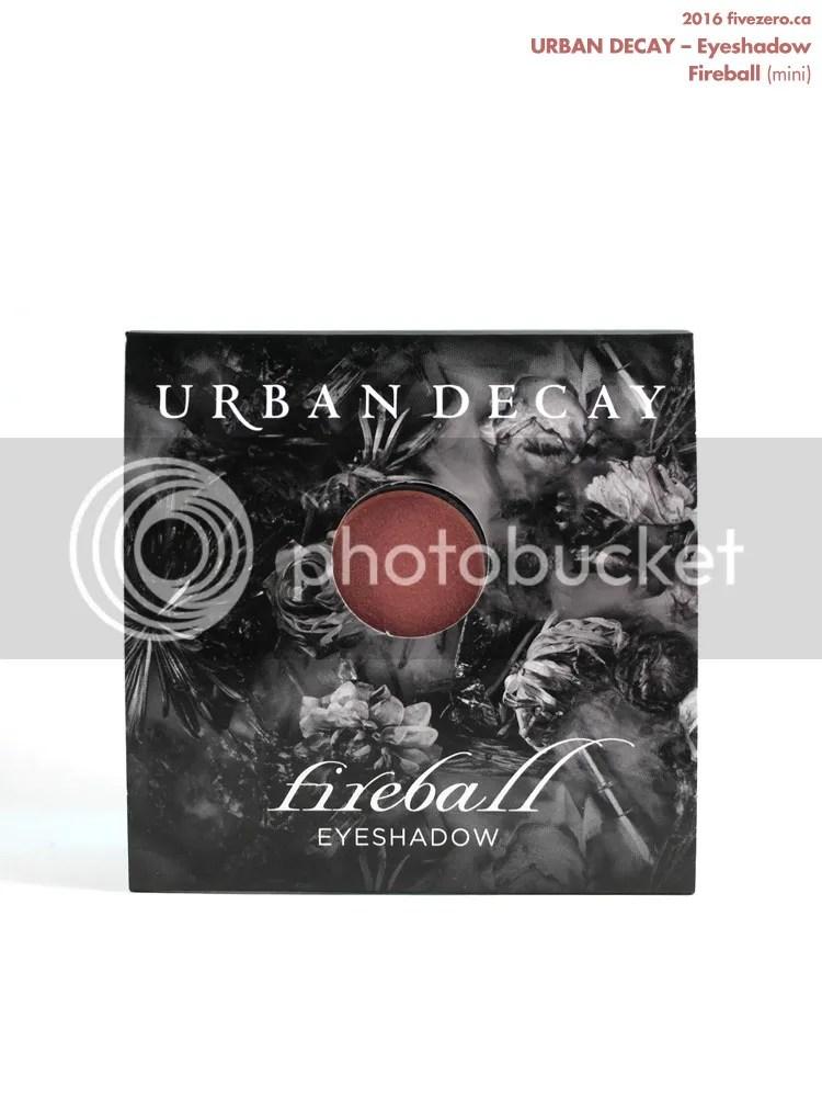 Urban Decay Eyeshadow in Fireball (sample)