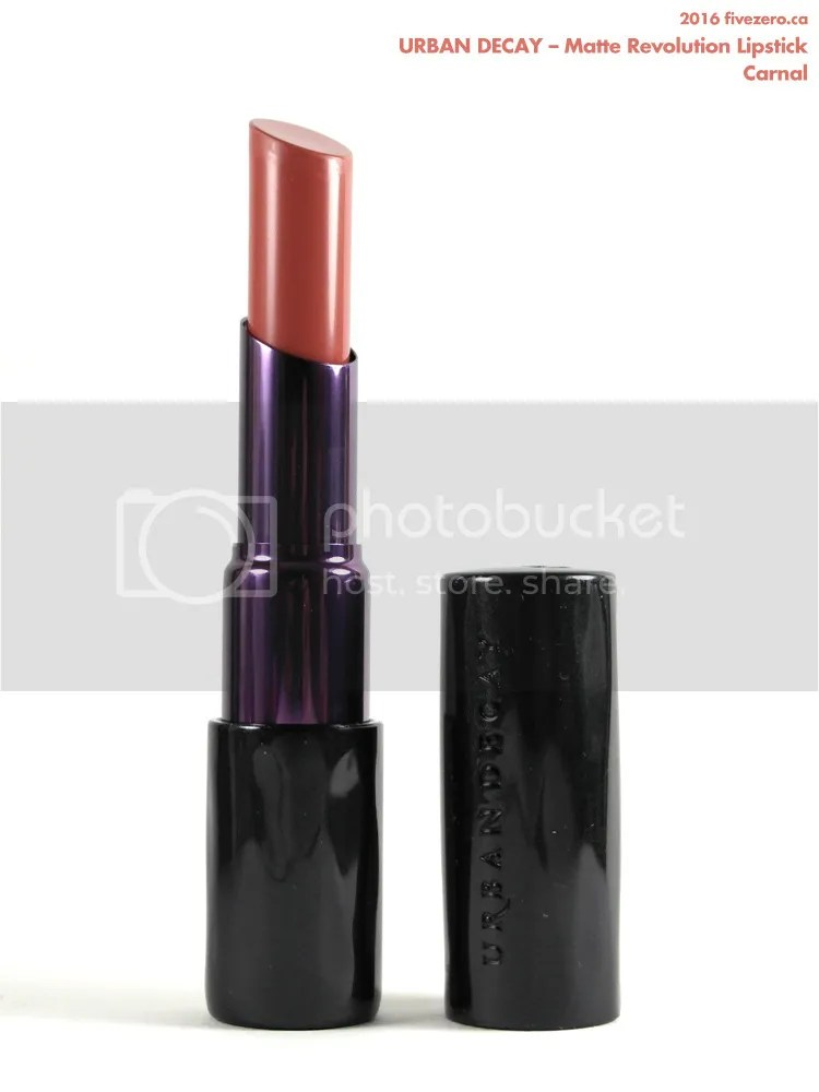 Urban Decay Matte Revolution Lipstick in Carnal