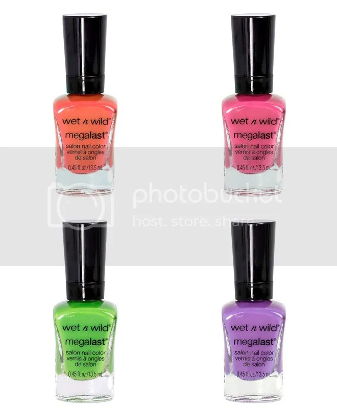 Wet n Wild Summer 2016 Lost in the Wild Flowers collection, MegaLast Salon Nail Color