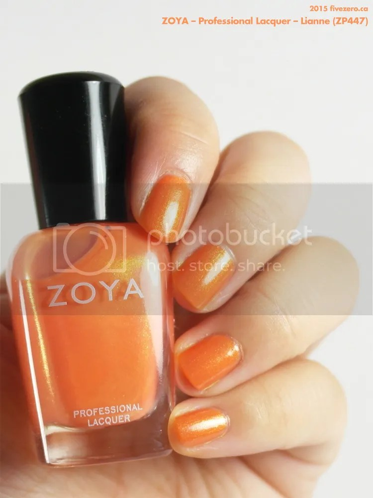 Zoya Professional Lacquer in Lianne, swatch