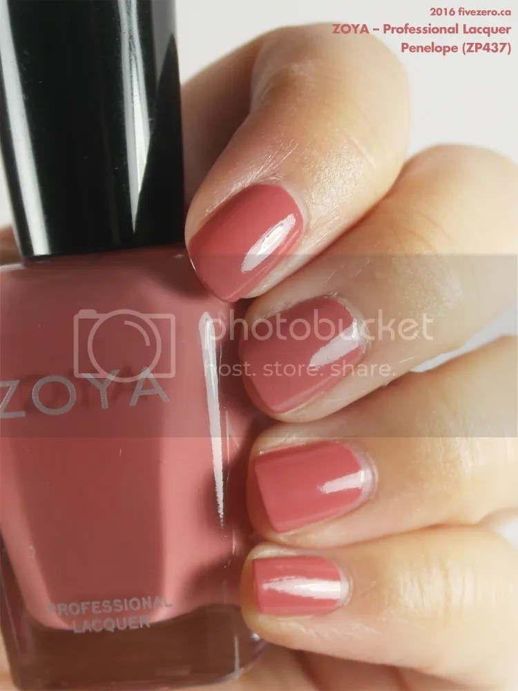 Zoya Professional Lacquer in Penelope, swatch