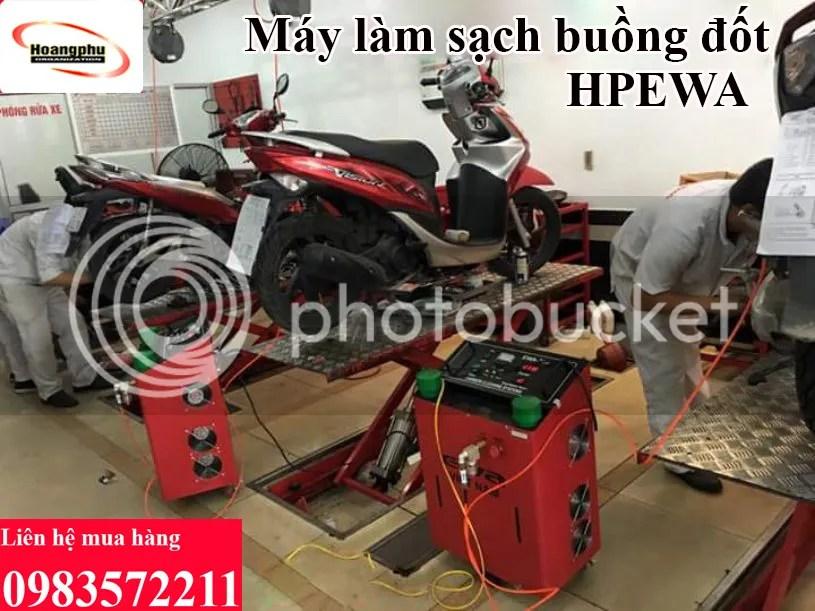 Máy làm sạch buồng đốt HPEWA