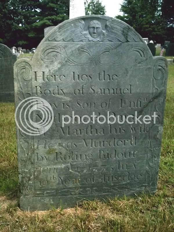 Samuel Davis Grave