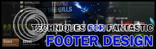 Footer Web Design