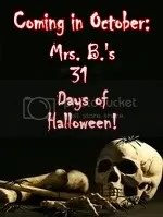 The 31 Days of Halloween!