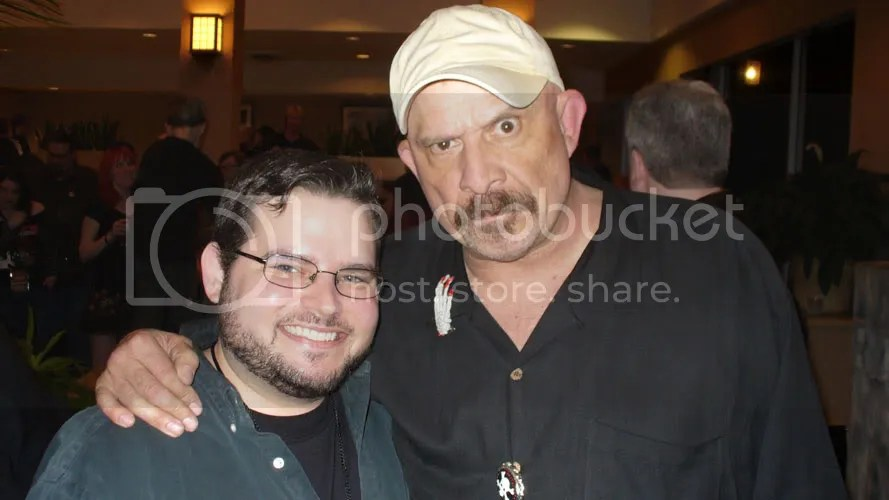 Richard with Tom Towles.