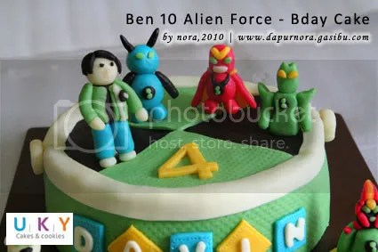 cake ben 10 alien force
