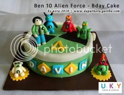 ben 10 birthday cake bandung