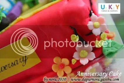 cake ulang tahun pernikahan