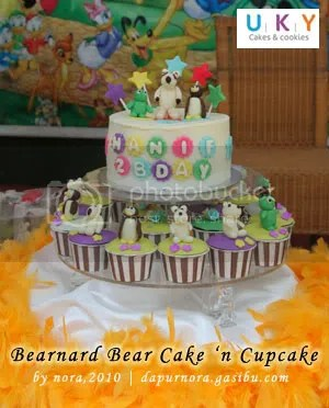 bernard bear birthday cake