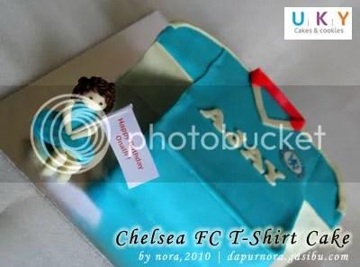 chelsea fc cake bandung