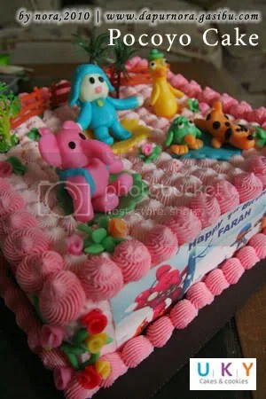 pocoyo cake bandung