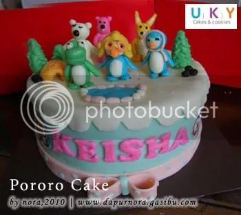 kue ulang tahun pororo