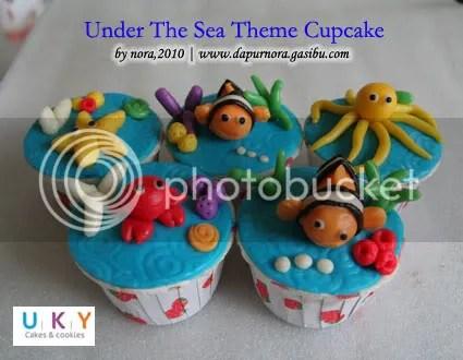 under the sea cupcake