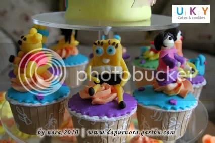 cupcake tokoh kartun bandung