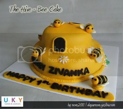 the hive bee cake bandung