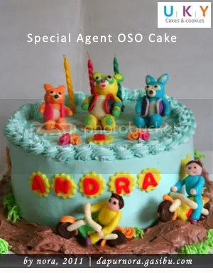 Special Agent OSO cake bandung