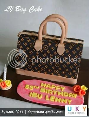 cake bag LV bandung