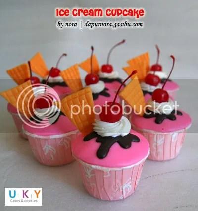 Cupcake Ice Cream Bandung