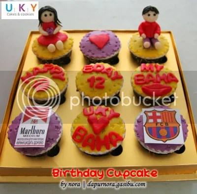 birthday cupcake bandung