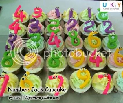 cupcake number jack bandung