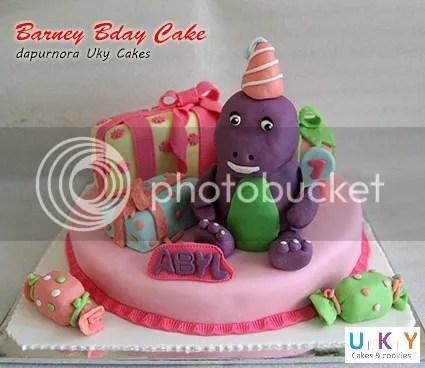 barney birthday cake bandung