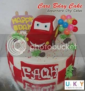 mcqueen cake bandung