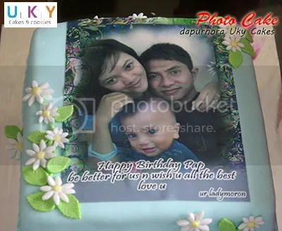 cake foto bandung