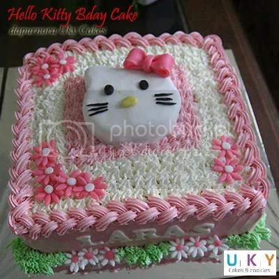 birthday cake hello kitty bandung