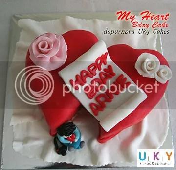 cake hati bandung