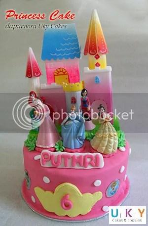 Kue ulang tahun princess bandung