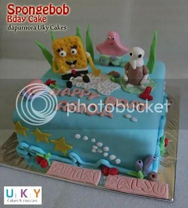 birthday cake spongebob bandung