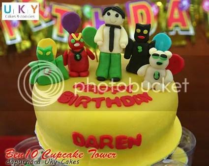 Kue ulang tahun ben10 bandung