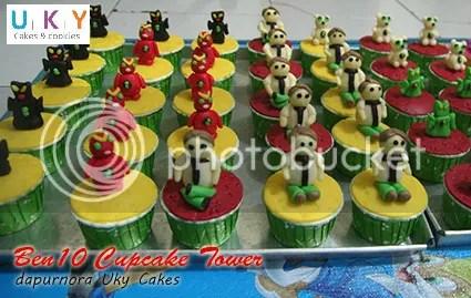 cupcake ben10 bandung