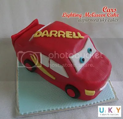 cars cake 3D bandung