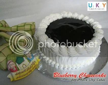 cheesecake bluebery bandung