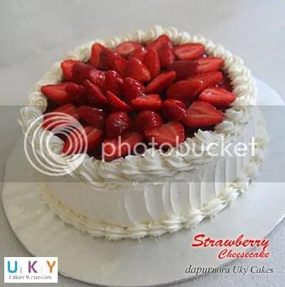 cheesecake strawberry bandung