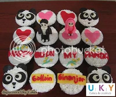 Cupcake panda bandung