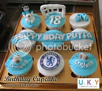 Cupcake Chelsea FC bandung