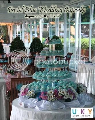 kue penganten biru bandung