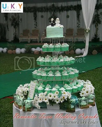 Wedding Cupcake Tosca Bandung
