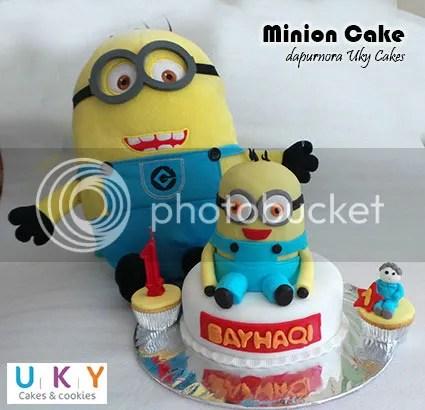 kue ulang tahun bandung minion