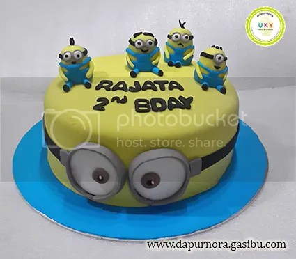 Dapur Nora Birthday Cake Minion Dapur Nora