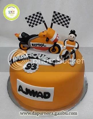 Kue ulang tahun motoGP bandung