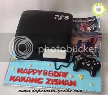 PS3 Cake bandung