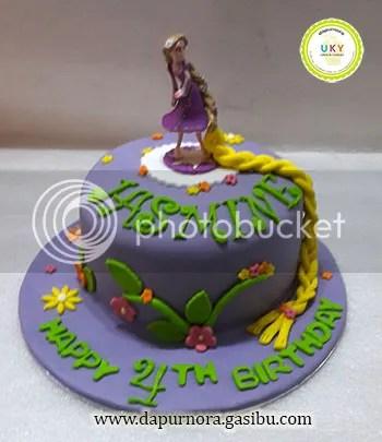 kue ulang tahun rapunzel bandung