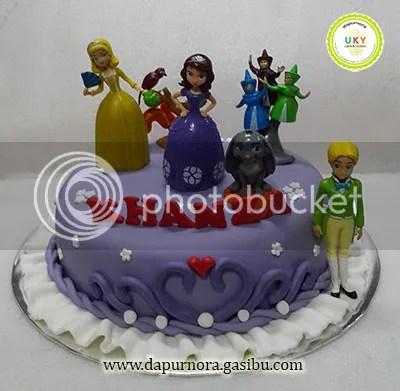 kue ulang tahun sofia the first bandung