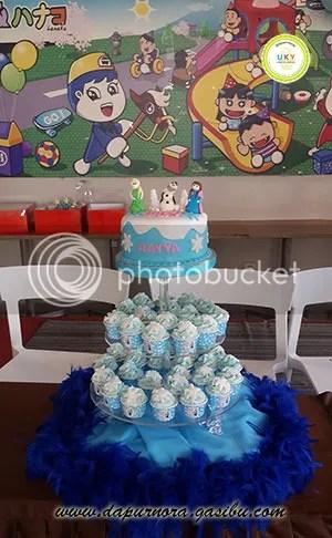 cupcake frozen bandung