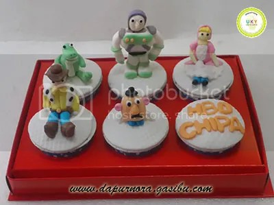 cupcake toy story bandung