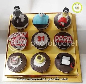 cupcake ulang tahun ayah bandung